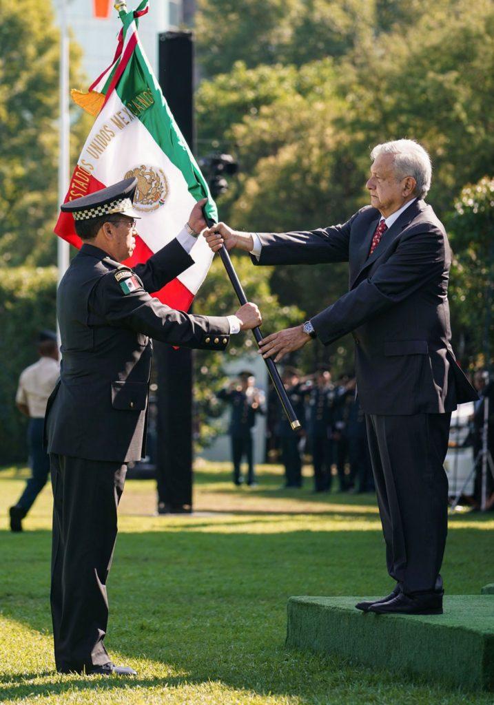Inició operaciones la Guardia Nacional como institución de seguridad pública en el país